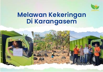 Kegiatan CSR Perusahaan Varash: Melawan Kekeringan di Karangasem
